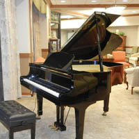 Residents enjoy music on our piano